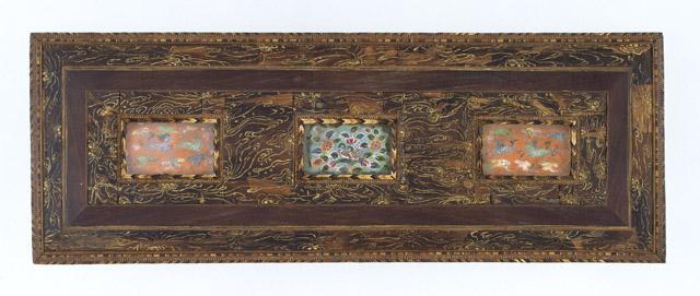 沈香木画箱(じんこうもくがのはこ)(蓋表):「第 70 回正倉院展」奈良国立博物館 会期「10月27日~11月12日」