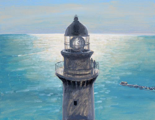 「11月1日は「灯台記念日」。島国ニッポンの航路を150年照らし続けてきた灯台に思いを馳せる。」谷川夏樹