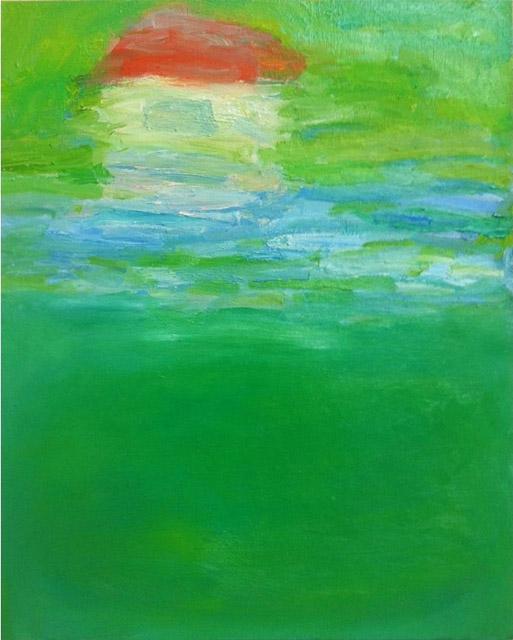 坂井淑恵《おうち》2012年:「現代アートの宝箱 OPAM利岡コレクション」大分県立美術館
