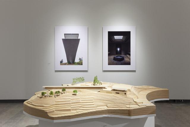展示風景:「新素材研究所・ -新素材×旧素材-」建築倉庫ミュージアム