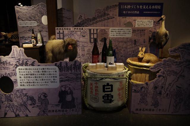 日本酒づくりを支える水循環について:「自然史博物館が仕かける 「Where culture meets nature」展」赤坂志乃
