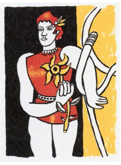 フェルナン・レジェ『サーカス』より《ラ・グラン・ジュリー》1950年刊、リトグラフ・紙:「アナザー・ストーリー /人の数だけ、物語がある。」高崎市美術館
