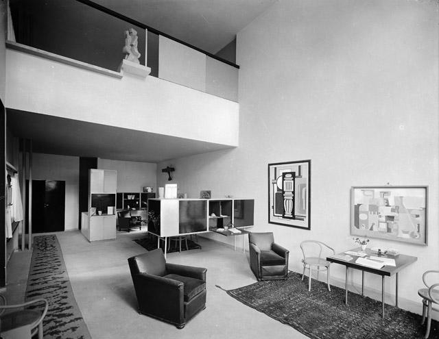 ル・コルビュジエ 「エスプリ・ヌーヴォー館」(1925年) Musée des Arts Décoratifs, Paris ©MAD, Paris:「ル・コルビュジエ 絵画から建築へ――ピュリスムの時代」国立西洋美術館