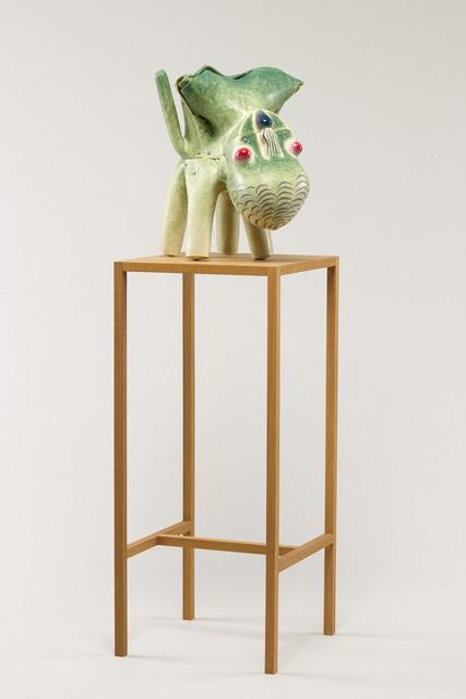 加藤泉《Untitled》2013:「百年の編み手たち -流動する日本の近現代美術-」東京都現代美術館