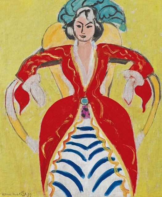 アンリ・マティス《ラ・フランス》1939 年 ひろしま美術館蔵