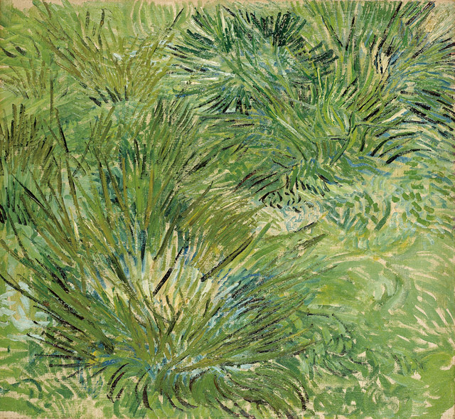 フィンセント・ファン・ゴッホ《草むら》1889 年 ポーラ美術館蔵