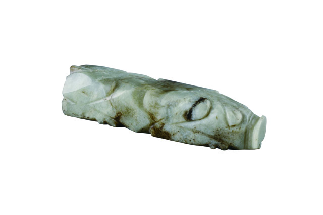 玉豚 玉 後漢時代・2世紀 1974年~1977年、安徽省亳州市董園村1号墓出土 亳州市博物館蔵
