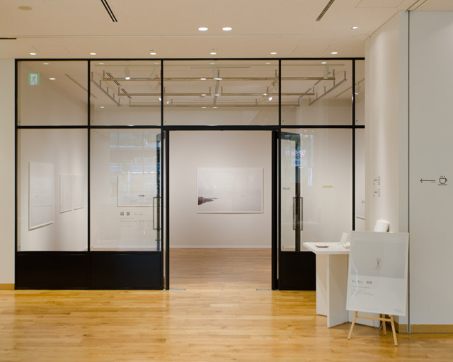 ワコールスタディーホール京都で開催した個展「霧霾(Wu-Mai)」の様子