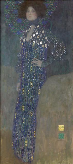 グスタフ・クリムト《エミーリエ・フレーゲの肖像》1902年 油彩/カンヴァス 178 x 80 cm ウィーン・ミュージアム蔵 ©Wien Museum / Foto Peter Kainz