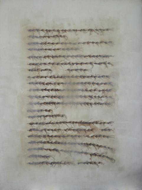 Tayfun Erdoğmuş, Untitled, 2008, mixed media on canvas. Photo by Ozan Çakmak
