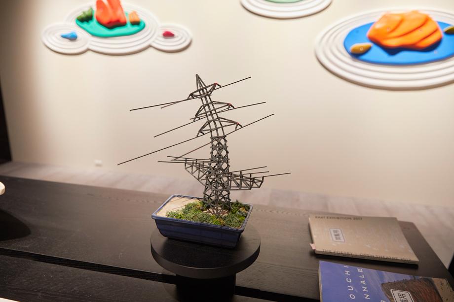 角文平 壁庭(かべにわ):sanwacompany Art Award / Art in The House 2020 グランプリ作品展 展示風景