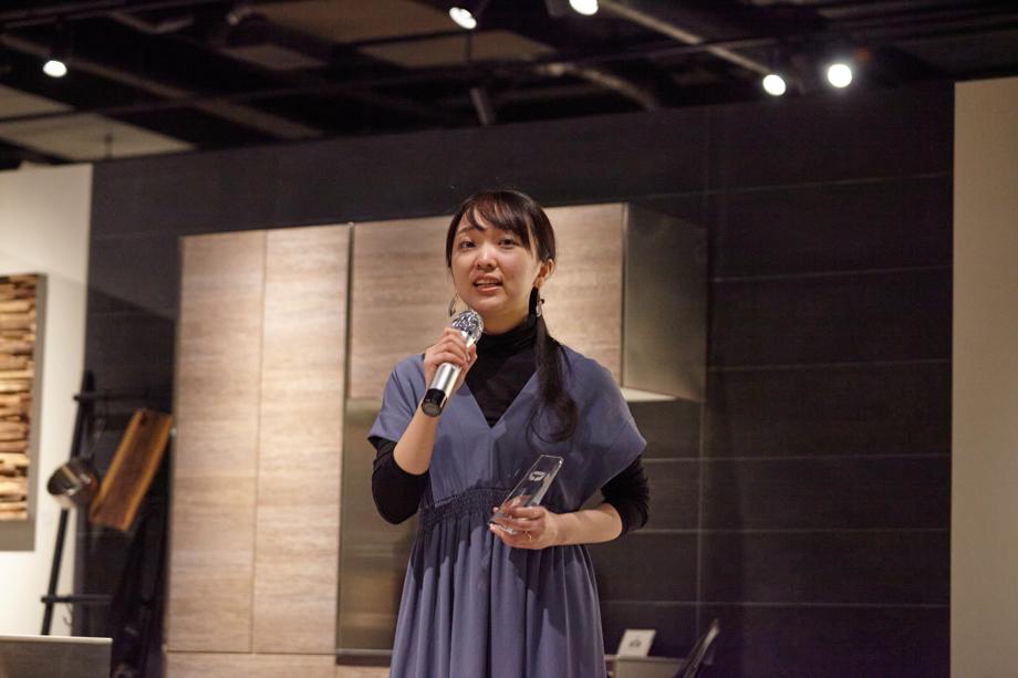 ファイナリスト 中小路萌美「sanwacompany Art Award / Art in The House 2020」授賞式&レセプション