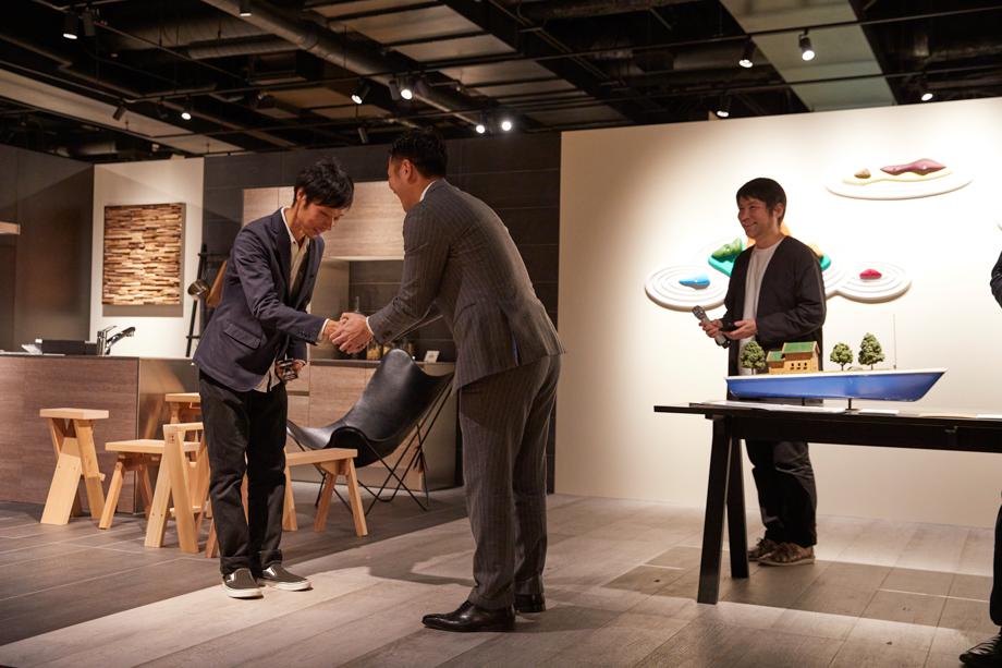 サンワカンパニー社長特別賞 鈴木淳夫「sanwacompany Art Award / Art in The House 2020」授賞式&レセプション