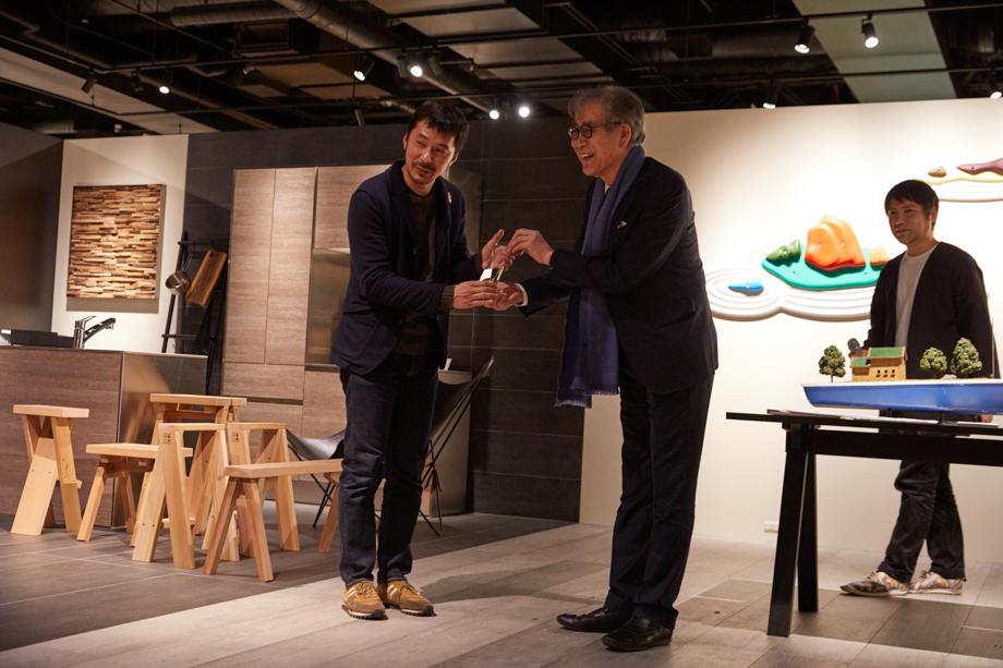 グランプリ 角 文平「sanwacompany Art Award / Art in The House 2020」授賞式&レセプション