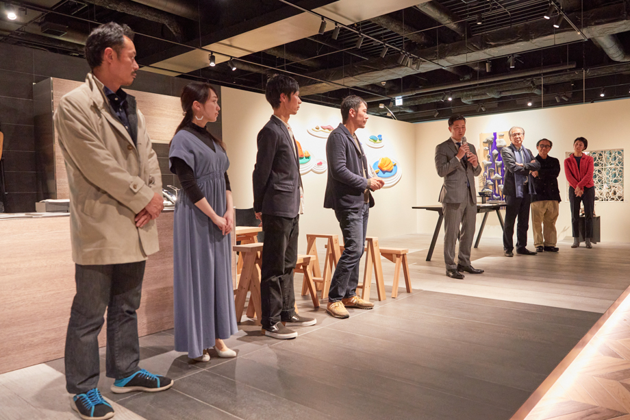 「sanwacompany Art Award / Art in The House 2020」授賞式&レセプション