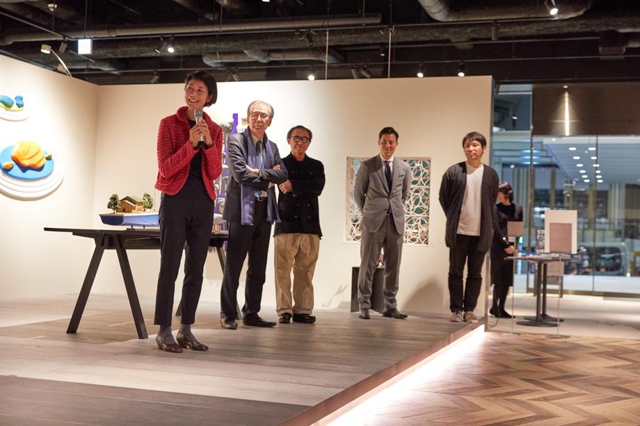審査員講評 塩見有子氏「sanwacompany Art Award / Art in The House 2020」授賞式&レセプション