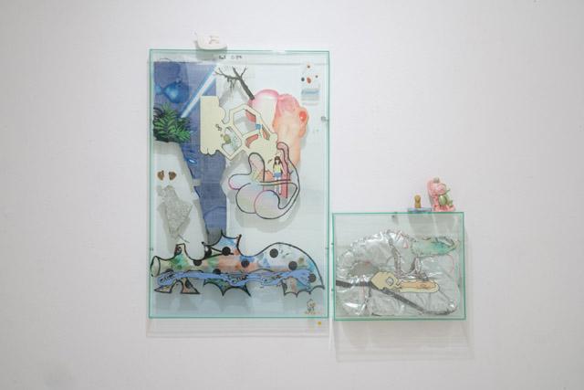 ギャラリー「CALM&PUNK GALLERY」のラッセル モーリス氏の作品