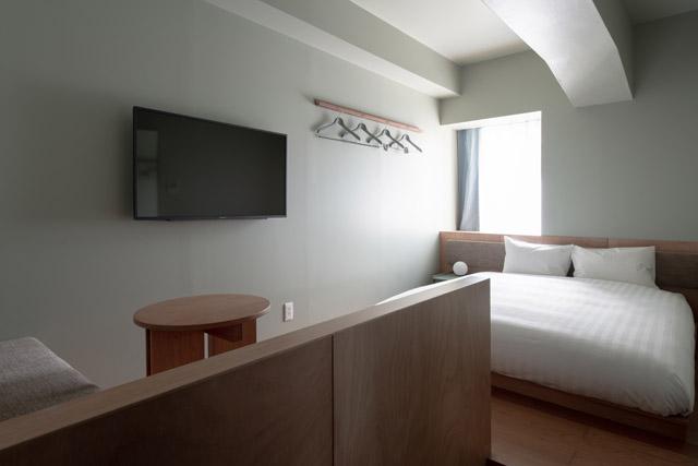 コンパクトながらミニマルに整ったお部屋など、部屋タイプは全部で10タイプ