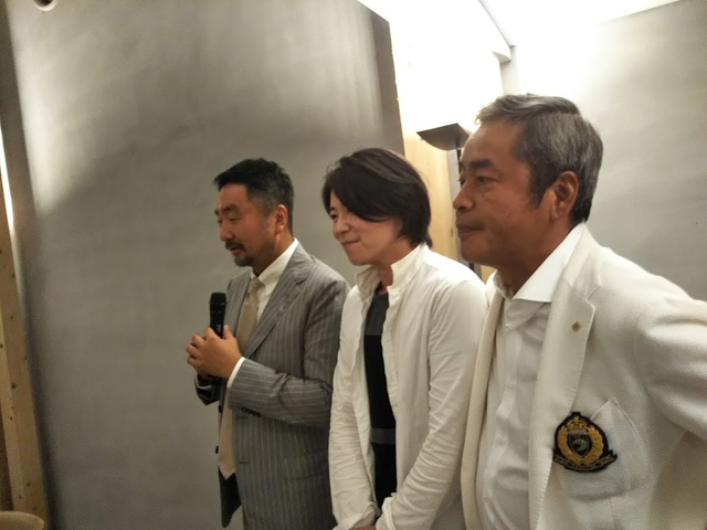 中央:ジビエ工房めいほうの元満真道氏
